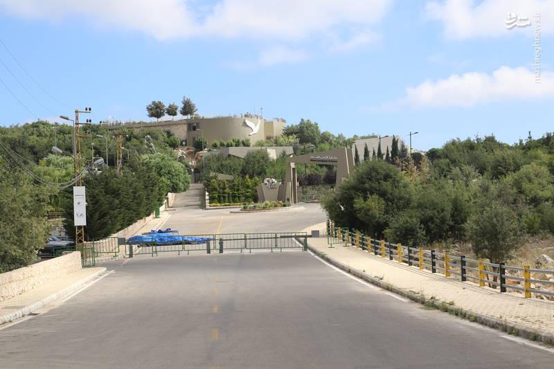 جاده منتهی به موزه ی «ملیتا»