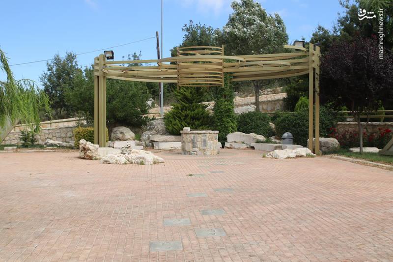 چاه آبی قدیمی در کنار دروازه ی موزه جهادی «ملیتا» در جنوب لبنان