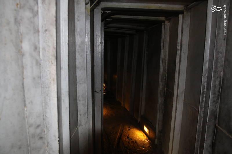 تونل های مقاومت در موزه جهادی «ملیتا» در جنوب لبنان