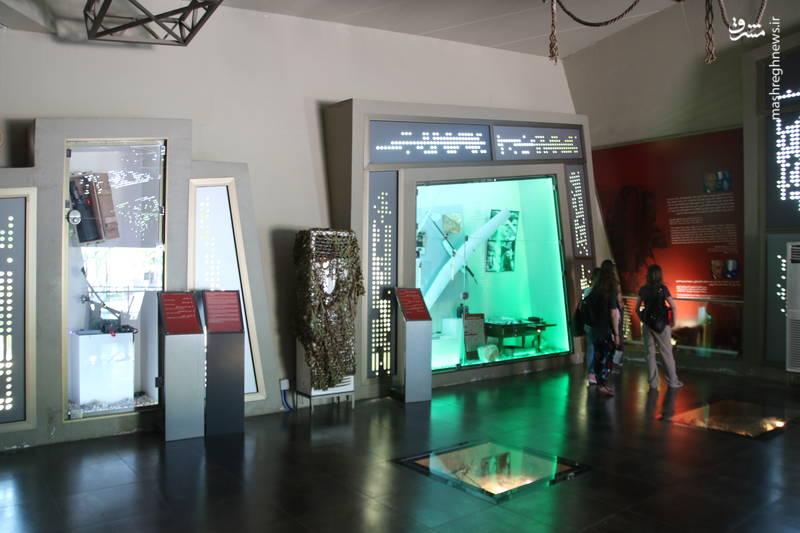 موزه ی غنائم جنگی به دست آمده از ارتش صهیونیستی