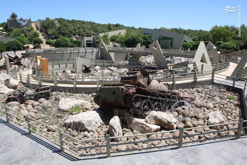 بخش موسوم به «هاویه» در موزه جهادی «ملیتا» در جنوب لبنان