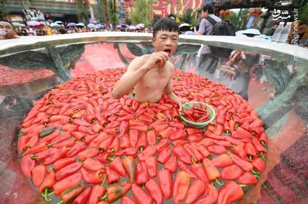 عکس/ مسابقهای عجیب در چین!