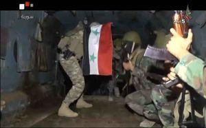 هلیبرن کماندوهای سوری پشت خطوط داعش +عکس و فیلم