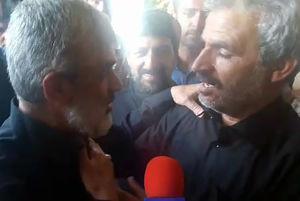 فیلم/گفتگوی پدر شهید احمدیروشن با پدر شهید حججی