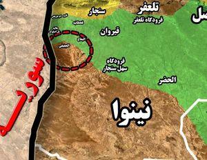 آخرین تلاش های داعش برای رسیدن به تعلفر ناکام ماند؛ جزئیات دفع حملات سنگین و نقره داغ شدن تروریست ها در مرزهای مشترک عراق و سوریه + نقشه میدانی