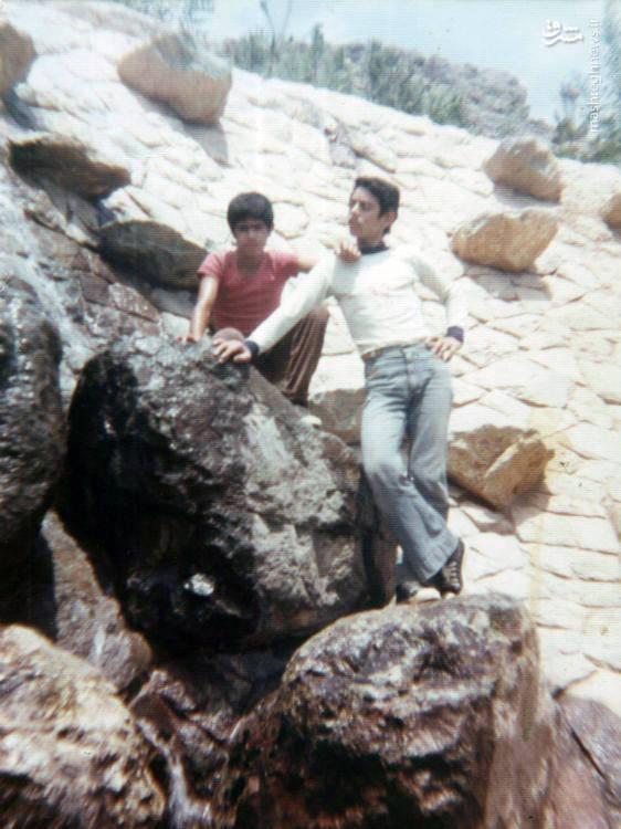 شهید «محسن نورانی»(نفر سمت راست)