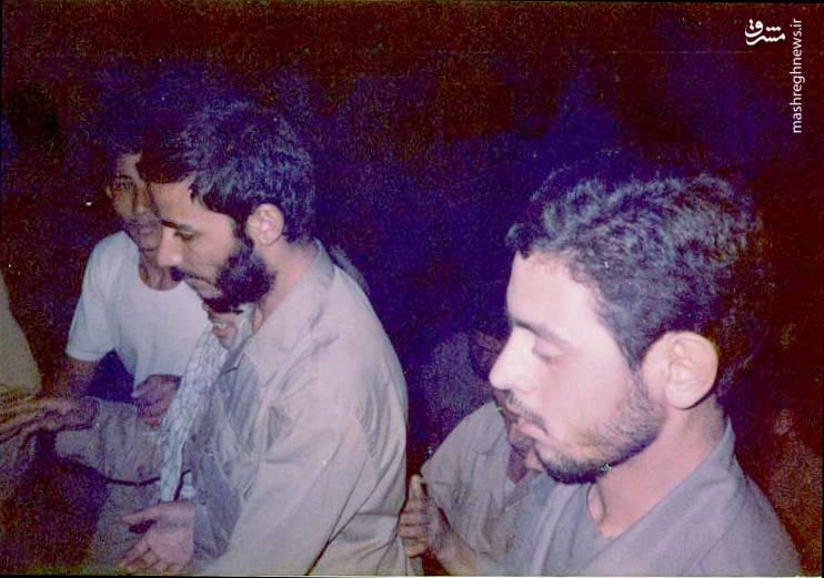 سردار شهید «محسن نورانی» در کنار «حاج همت»