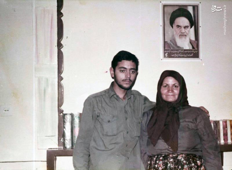 سردار شهید «محسن نورانی» و مادرش