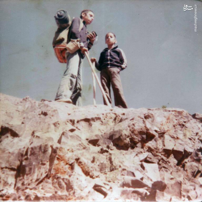 محسن نورانی و برادرش مصطفی