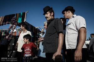 عکس/ شلوغ بازار مهاجران افغانستانی