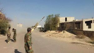 آزادسازی ۴ منطقه دیگر در شرق حمص سوریه