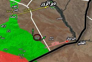 جزئیات پیشروی ها در جنوب شرق استان حمص
