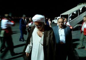 بازدید نماینده رهبری از مناطق سیل زده +عکس