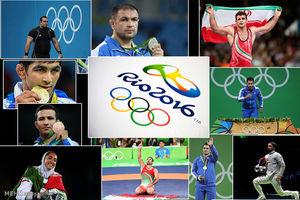 مدال آوران المپیک