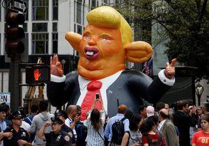 تظاهرات مردم آمریکا مقابل برج ترامپ