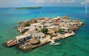 فیلم هوایی از پرجمعیت ترین جزیره دنیا