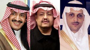 سه شاهزاده سعودی
