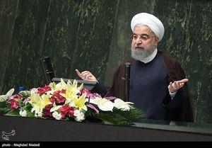ژست های روحانی در مجلس