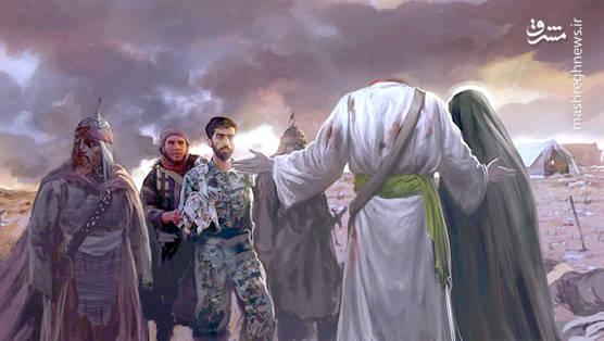حاج مهدی رسولی مداحی برای شهید محسن حججی