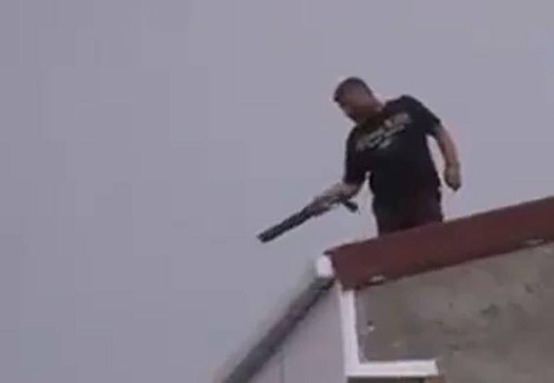 فیلم/ تیراندازی بی هدف در استانبول