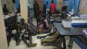 عکس/ انتحاری مرگبار در بازار نیجریه