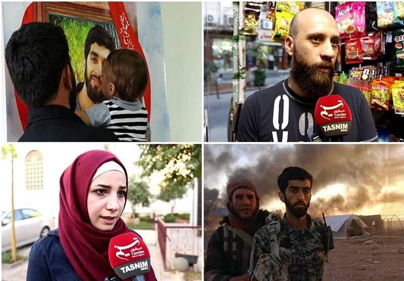 فیلم/ مردم سوریه درباره شهید حججی چه میگویند؟