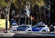عکس/ حمله تروریستی در شهر بارسلونا اسپانیا