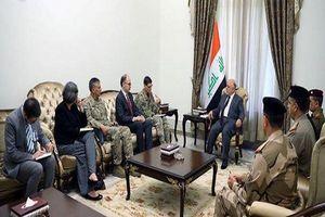 رایزنی العبادی و ژنرال آمریکایی درباره آموزش نیروهای عراقی