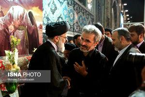 عکس/ گرامیداشت شهید حججی در حرم رضوی