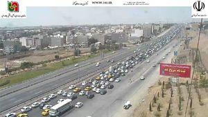 وضعیت ترافیکی صبحگاهی در اتوبان های پایتخت