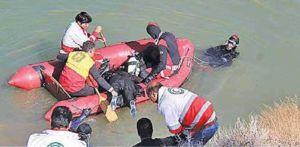 سقوط کودک 10 ساله در رودخانه کرج