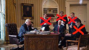 پشتپرده اخراجهای سریالی کاخ سفید: فرار ترامپ از استیضاح؛ رد پای مرداک یا نفوذ مغز متفکر اقتصادی دولت؟ + تصاویر و فیلم