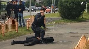فیلم/ چاقوکشی در روسیه