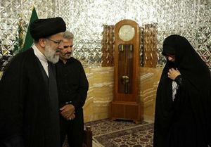 متن حکم خادمی پدر و همسر شهید حججی +عکس