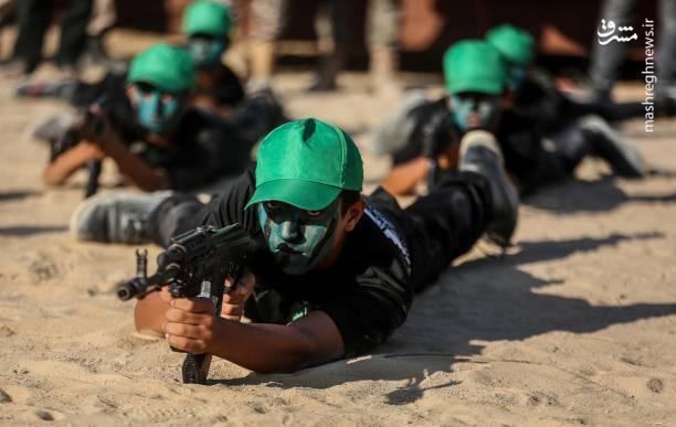2023728 - اردوگاه تابستانی حماس برای نوجوانان غزه