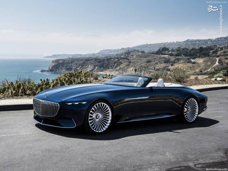 Mercedes-Benz Vision Maybach 6 Cabriolet Concept (2017)
