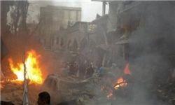 حمله آمریکا به مواضع ارتش سوریه در حومه «الرقه»