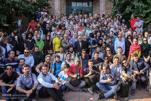 عکس/نخستین دوره اهدای نشان عکاس سال مطبوعاتی ایران