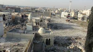 ساکنان این شهر محکوم به مرگ و سانسور هستند/ العوامیه عربستان ۱۰۰ روز پس از جنگ تمام عیار آلسعود علیه مردم + نقشه میدانی و تصاویر