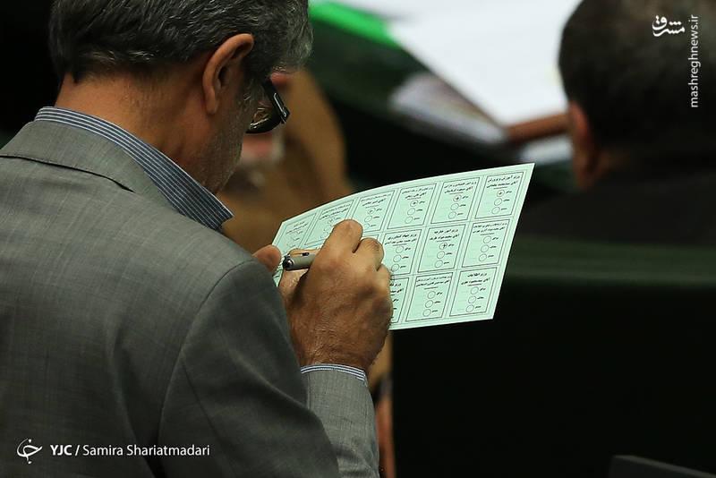 جلسه رای اعتماد به وزرای پیشنهادی