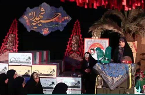 فیلم/ شعر خوانی برای شهید حججی در معراج شهدا
