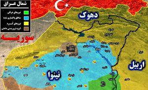 نیروهای عراقی پس از ۳ سال وارد شهر تلعفر شدند +نقشه میدانی