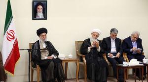 عکس/ حضور وزیر جدید ارشاد در دیدار امروز رهبر انقلاب