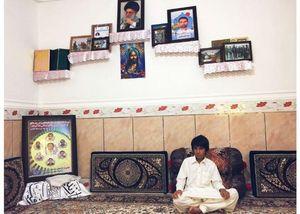 خانواده شهید مدافع حرم در سیستان و بلوچستان