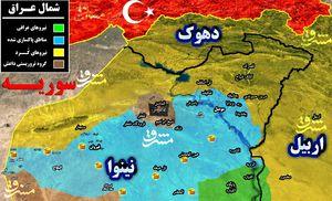 «موصل کوچک» دو روز پس از آغاز عملیات آزادسازی/ ۳۰۰ کیلومتر مربع آزاد شد/ ایزدیها هم برای انتقام وارد میدان «تلعفر» شدند + تصاویر و نقشه میدانی