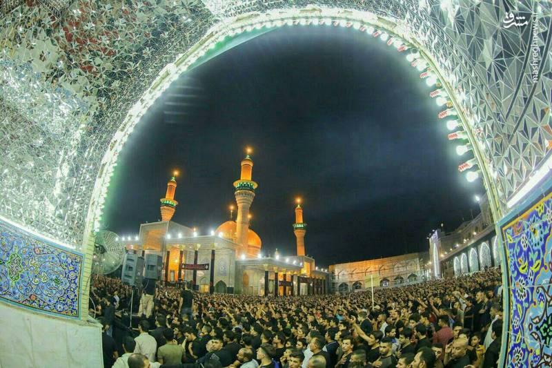 کاظمین در شب شهادت امام جواد(ع)