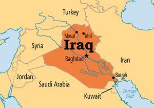 خنثیسازی حمله موشکی به پالایشگاه نفتی عراق