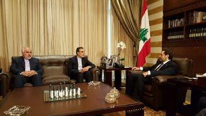 عکس/ دیدار جابریانصاری با سعد الحریری
