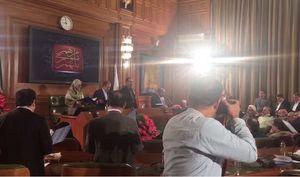 فیلم/ مراسم سوگند اعضای جدید شورای شهر تهران