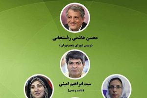طرح/ ترکیب هیاترئیسه شورای پنجم تهران